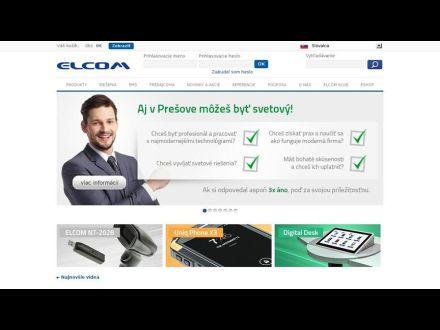 www.elcom.eu