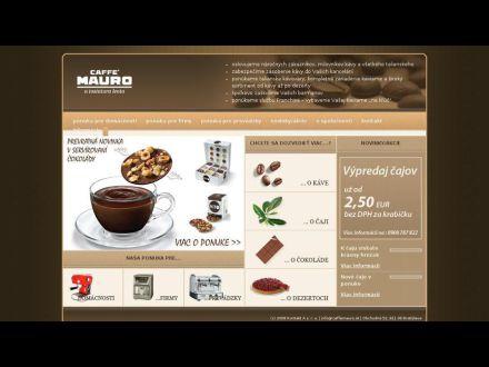 www.caffemauro.sk