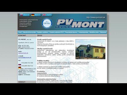 www.pvmont.sk
