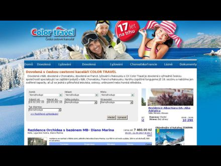 www.colortravel.cz