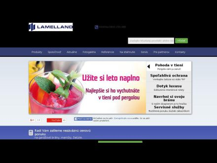 www.lamelland.sk