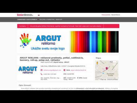 www.argut-reklama.bizref.sk