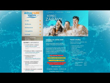 www.aquaparkpresov.sk