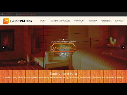 www.saunypatrik7.sk