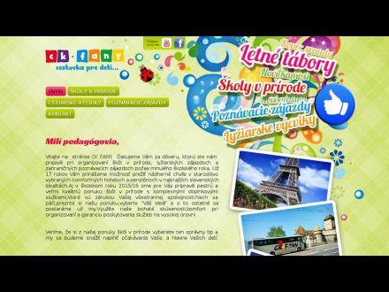 www.ckfany.sk