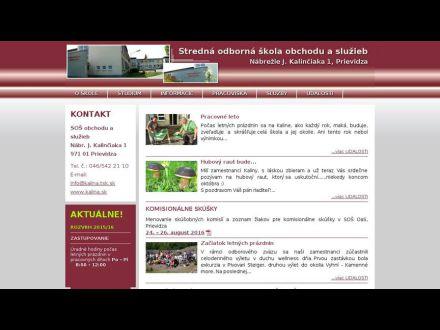 www.kalina.sk