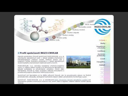www.ingeo-envilab.sk