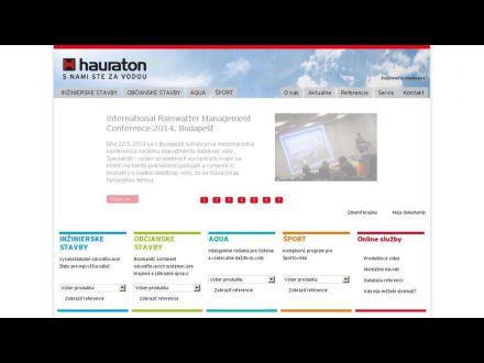 www.hauraton.sk