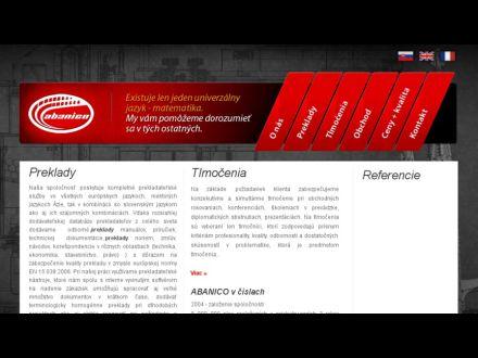 www.abanico.sk