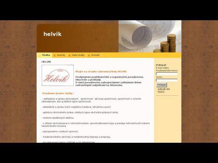 www.helvik.biznisweb.sk