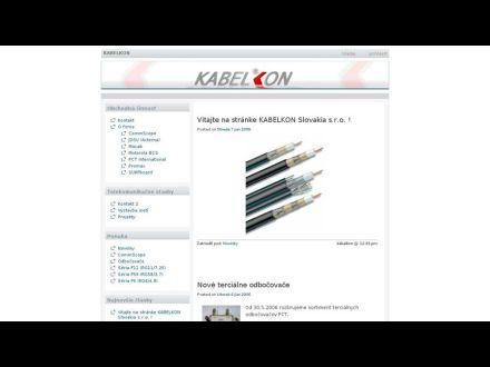 www.kabelkon.sk