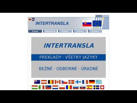 www.intertransla.sk