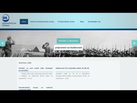 www.demokratickastrana.sk