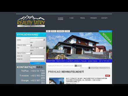 www.realitytatry.sk