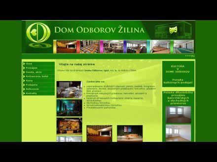 www.domodborovza.sk