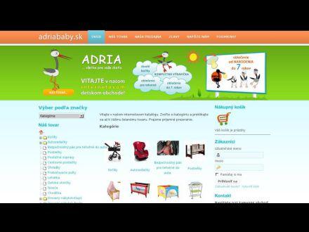 www.adriababy.sk