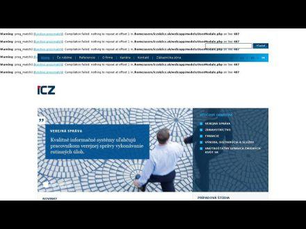 www.icz.sk