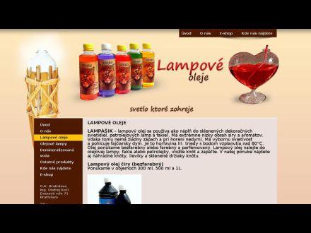 www.lampoveoleje.sk
