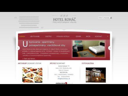 www.hotelrohac.sk