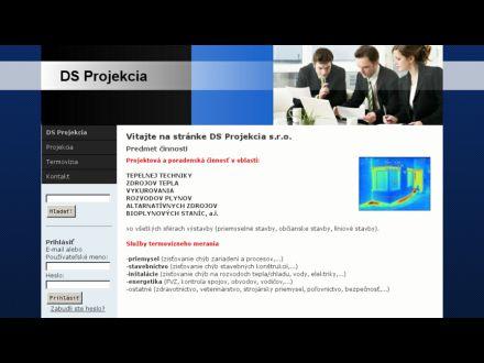 www.dsprojekcia.sk