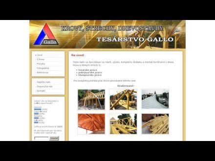 www.tesarstvo.sk
