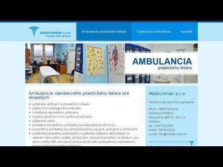 www.medicinman.sk