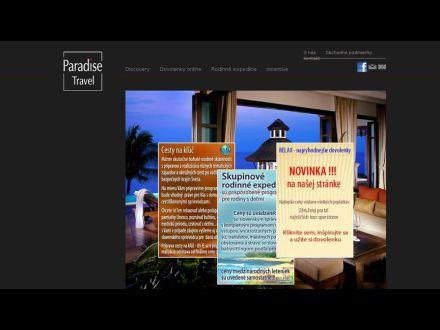 www.paradisetravel.sk