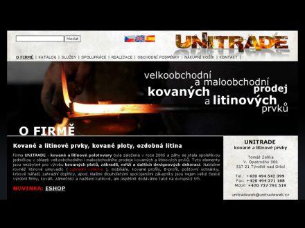 www.unitradeweb.cz