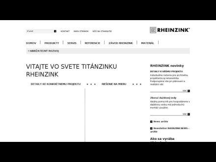 www.rheinzink.sk