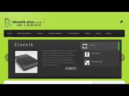 www.akustik.sk