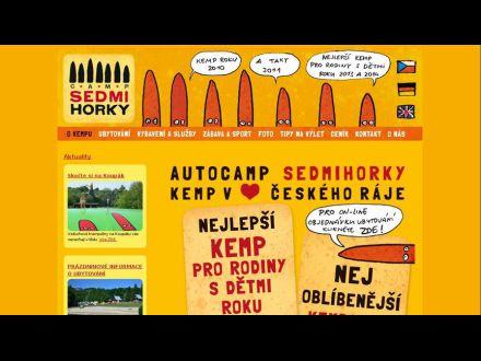 www.campsedmihorky.cz