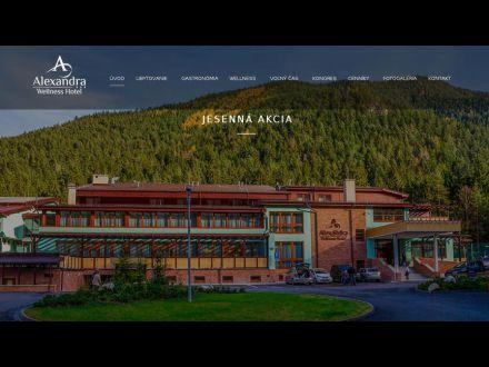 www.alexandrawellnesshotel.sk