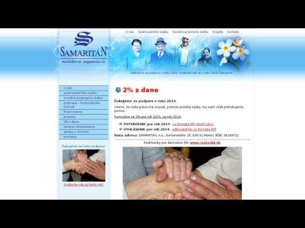 www.samaritan.sk