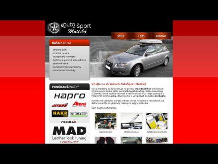 www.autosportmalicky.sk