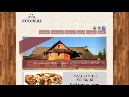 www.hotelkolonial.sk