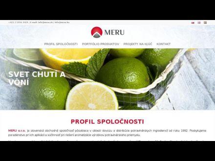 www.meru.sk
