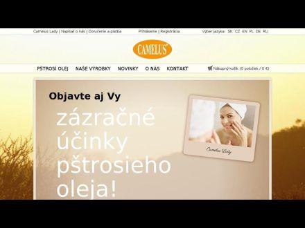 www.camelus.sk
