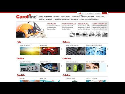 www.carolline.sk