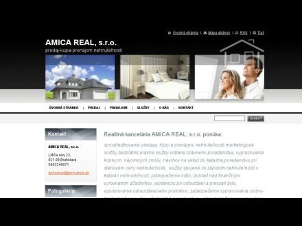 www.amicareal.sk