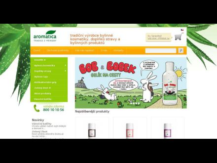 www.aromatica.cz