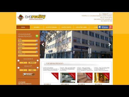 www.a-zreality.sk