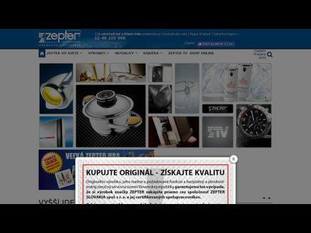 www.zepter.sk