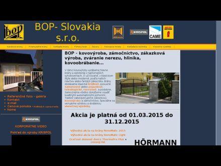 www.bopslovakia.sk