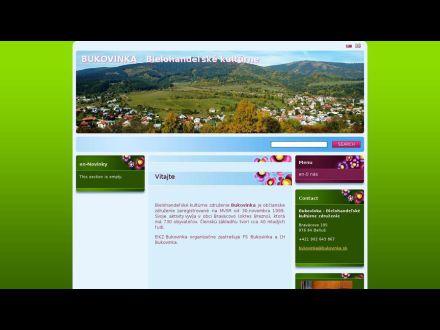 www.bukovinka.sk