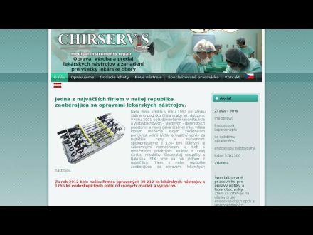www.chirservis.sk