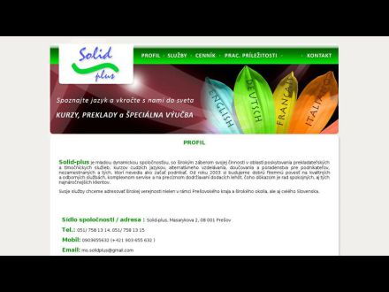 www.solidplus.sk