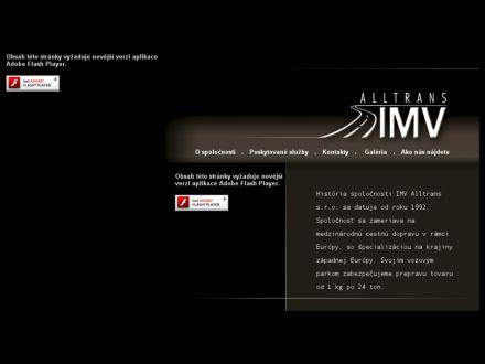 www.imv-alltrans.sk