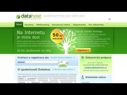 www.datahost.cz
