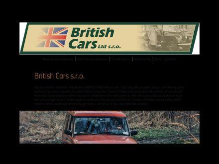 www.britishcars.cz