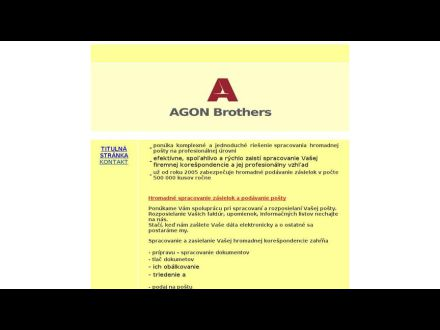 www.agonbrothers.sk